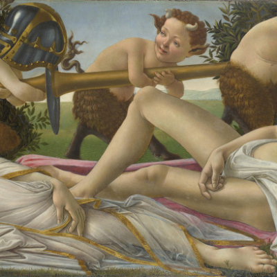 Sandro Botticelli. Venus and Mars. 1483