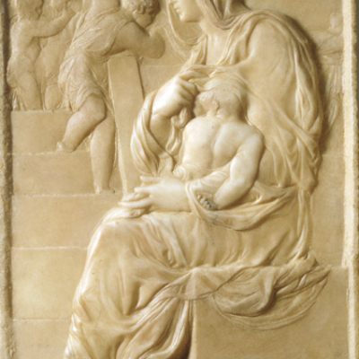 Michelangelo. Madonna of the Steps. 1491