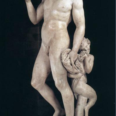 Michelangelo. Bacchus 1496-1497