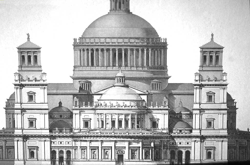 Bramante S Design For Saint Peter S Basilica